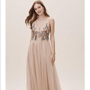Anthropologie/BHLDN Isabel Blush Bridesmaid Dress